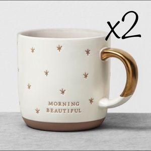 Morning beautiful hearth and hand mugs